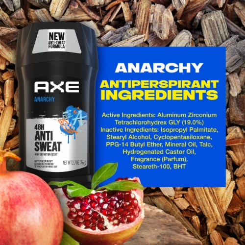 Axe Anarchy Antiperspirant & Deodorant Perspective: bottom