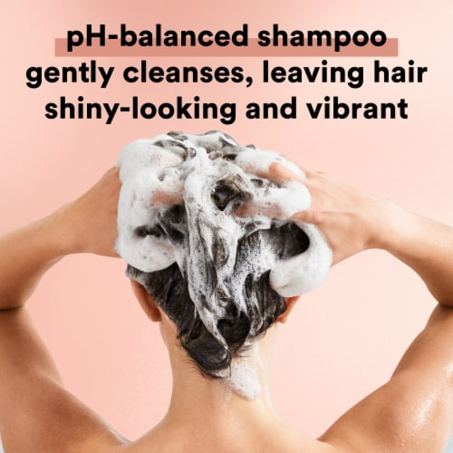 Suave Professionals Moroccan Oil Infusion Shine Shampoo for Dull or Dry Hair Perspective: bottom
