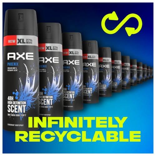 Axe Phoenix Deodorant Body Spray Perspective: bottom