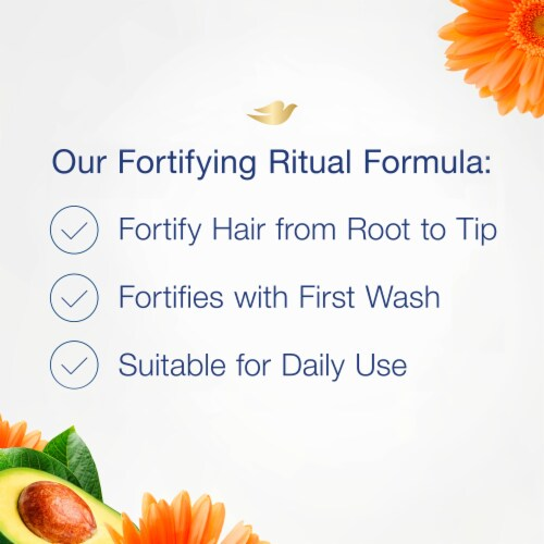 Dove Nourishing Rituals Fortifying Ritual Conditioner Perspective: bottom