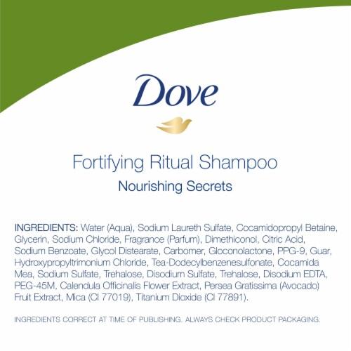 Dove Nourishing Secrets Strengthening Shampoo Perspective: bottom