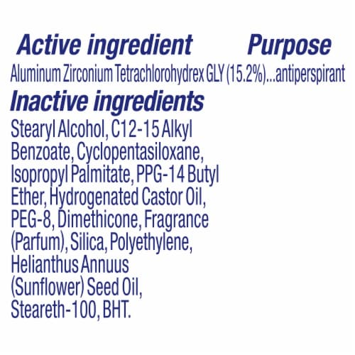 Dove Advanced Care Apple & White Tea Antiperspirant Deodorant Stick Perspective: bottom