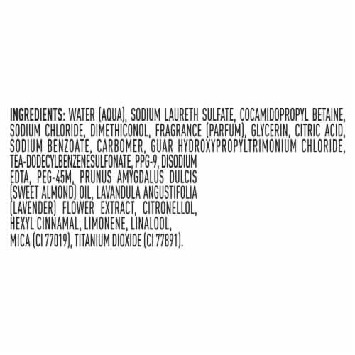 Suave® Lavender & Almond Oil Moisturizing Shampoo Perspective: bottom