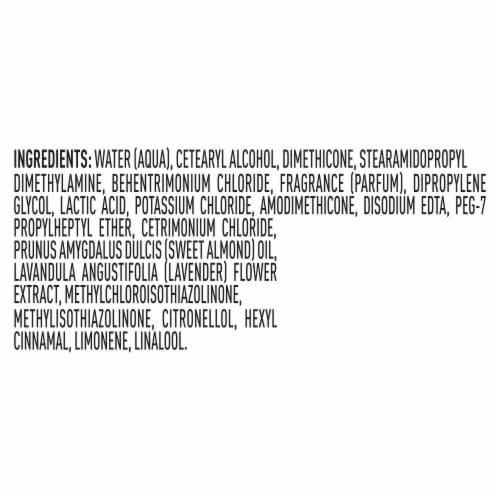 Suave® Lavender & Almond Oil Moisturizing Conditioner Perspective: bottom