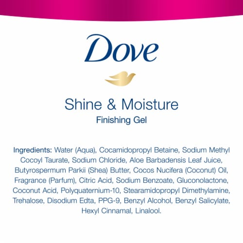 Dove Hair Shine and Finish Hair Gel Perspective: bottom