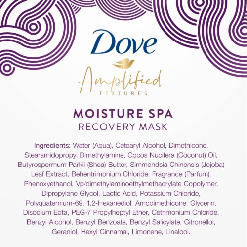 Dove Hair Curls Mask Perspective: bottom