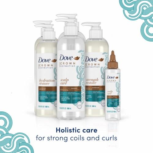 Dove Amplified Textures Super Slip Detangling Conditioner Perspective: bottom