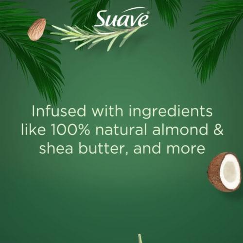 Suave® Essentials Paraben & Cruelty-Free Sea Salt & Eucalyptus Gentle Exfoliating Body Wash Perspective: bottom