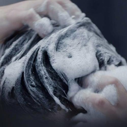 Dove Men+ Care Eucalyptus & Birch 2-in-1 Shampoo and Conditioner Perspective: bottom