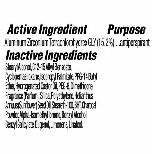 Dove Men+Care 48-Hour Sweat & Odor Protection Charcoal Antiperspirant Deodorant Stick Perspective: bottom