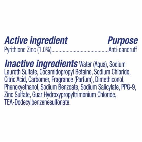 Suave Scalp Control Mint Deep Clean Anti-Dandruff Shampoo Perspective: bottom