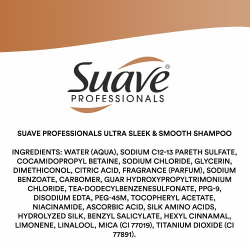Suave® Ultra Sleek & Smooth Frizz Control Shampoo & Conditioner Perspective: bottom