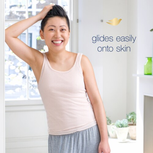 Dove Fresh Invisible Solid Antiperspirant Twin Pack Deodorant Perspective: bottom
