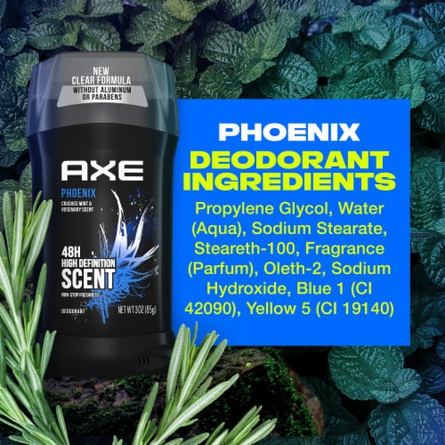 Axe Phoenix Deodorant Stick Perspective: bottom