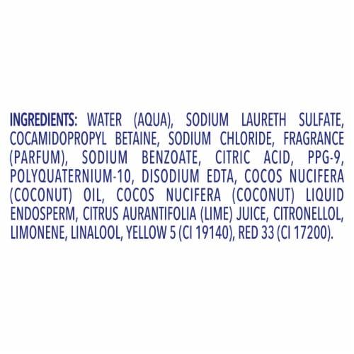 Dove Nourishing Secrets Coconut & Hydration Shampoo for Dry Hair Perspective: bottom