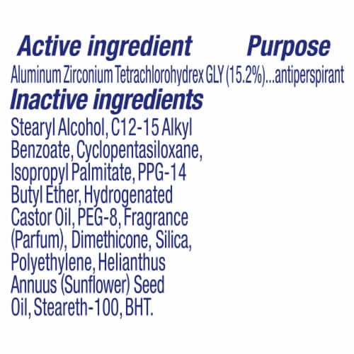 Dove Advanced Care Lavender Fresh Antiperspirant Invisible Solid Stick Perspective: bottom