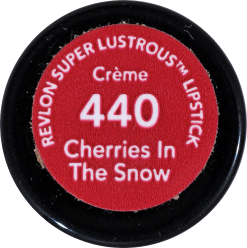 Revlon Super Lustrous Cherries in the Snow Creme Lipstick Perspective: bottom