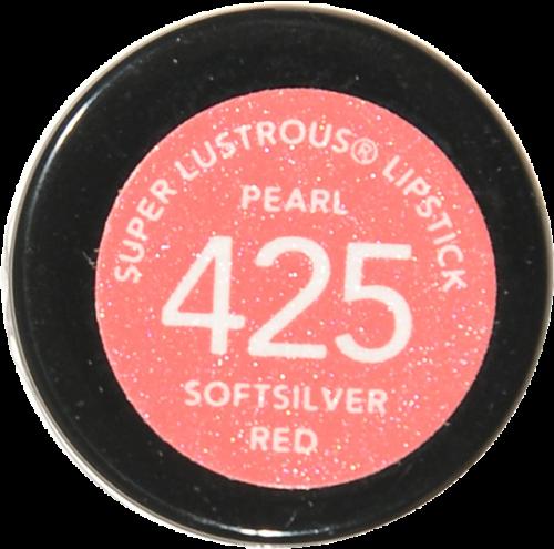 Revlon Super Lustrous Softsilver Red Pearl Lipstick Perspective: bottom