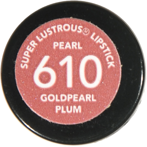 Revlon Super Lustrous Goldpearl Plum Pearl Creme Lipstick Perspective: bottom