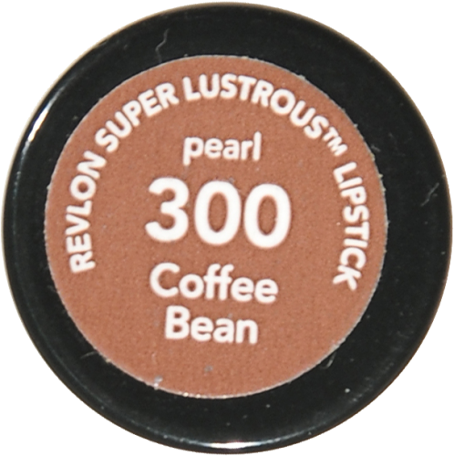 Revlon Super Lustrous 300 Coffee Bean Pearl Lipstick Perspective: bottom