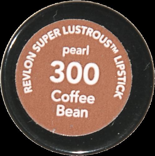 Revlon Super Lustrous 300 Coffee Bean Pearl Lipstick Perspective: bottom