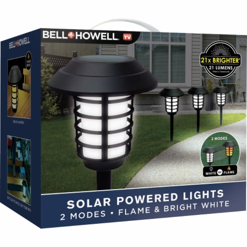 Bell+Howell® Solar Powered Pathway Lights Perspective: bottom