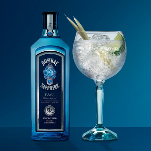 Bombay Sapphire East Gin Perspective: bottom