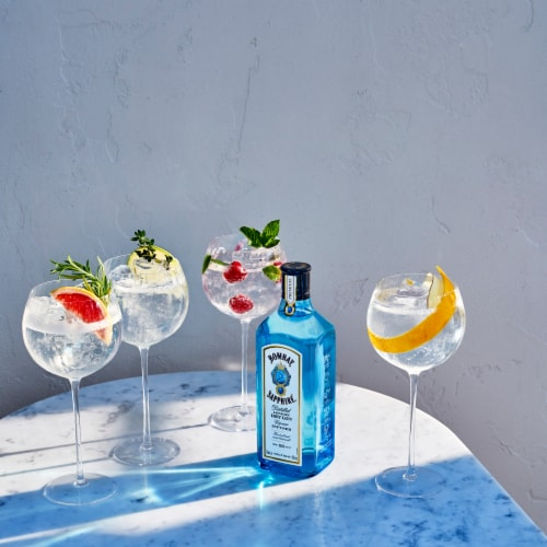 Bombay Sapphire London Dry Gin Perspective: bottom