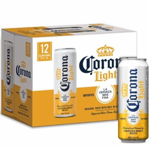Corona® Light Lager Beer Perspective: bottom