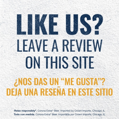 Corona® Extra Imported Beer Perspective: bottom