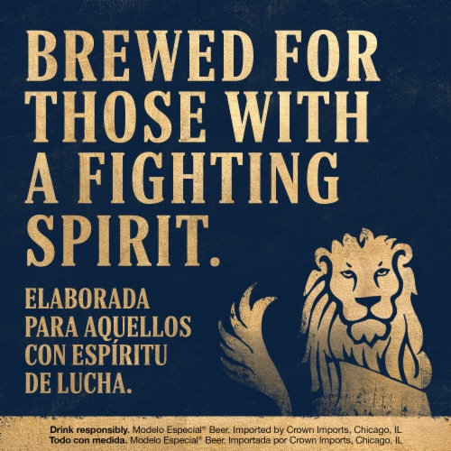 Modelo Especial Imported Beer Perspective: bottom