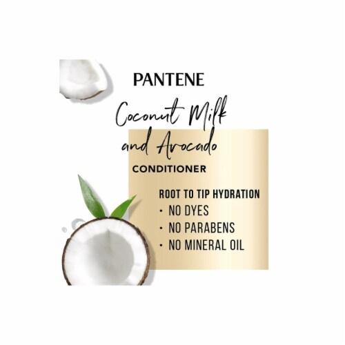 Pantene Pro-V Paraben and Dye Free Avocado Conditioner Dry Hair (38.2 fl. oz.) Perspective: bottom