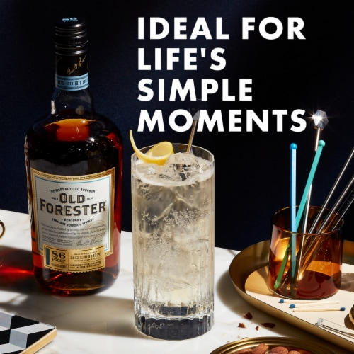 Old Forester® Kentucky Straight Bourbon Whisky Perspective: bottom