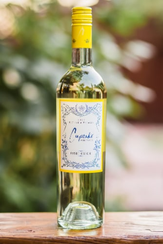 Cupcake Vineyards Pinot Grigio White Wine Perspective: bottom