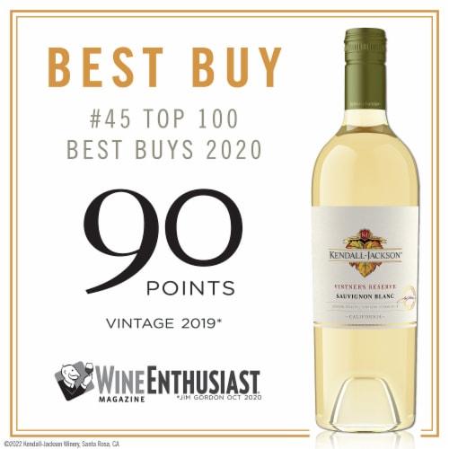 Kendall-Jackson Vintner's Reserve Sauvignon Blanc White Wine Perspective: bottom