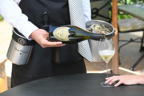Dom Perignon Vintage Champagne Perspective: bottom