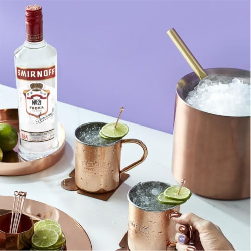 Smirnoff No. 21 Award-Winning Vodka Perspective: bottom