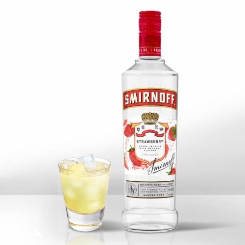 Smirnoff Strawberry Vodka Perspective: bottom