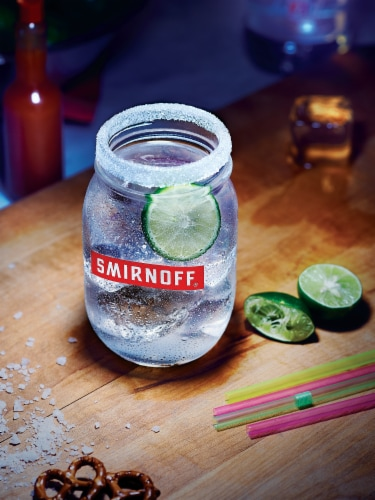 Smirnoff Lime Vodka Perspective: bottom