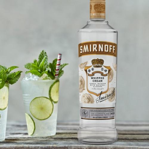 Smirnoff Whipped Cream Vodka Perspective: bottom