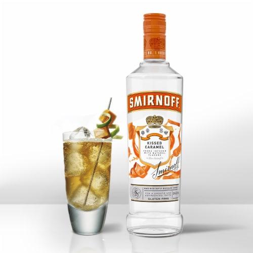 Smirnoff Kissed Caramel Vodka Perspective: bottom