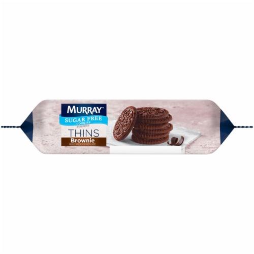 Murray Brownie Thins Sugar Free Cookies Perspective: bottom