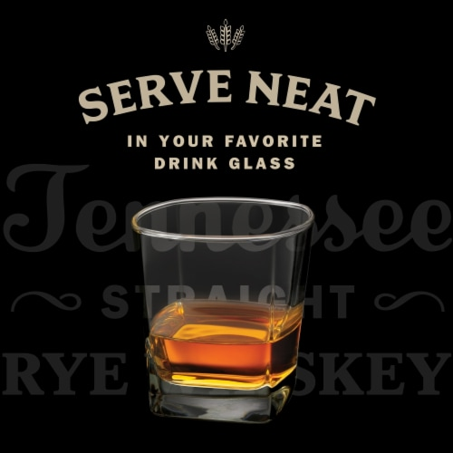 Jack Daniel's® Rye Tennessee Straight Rye Whiskey Perspective: bottom