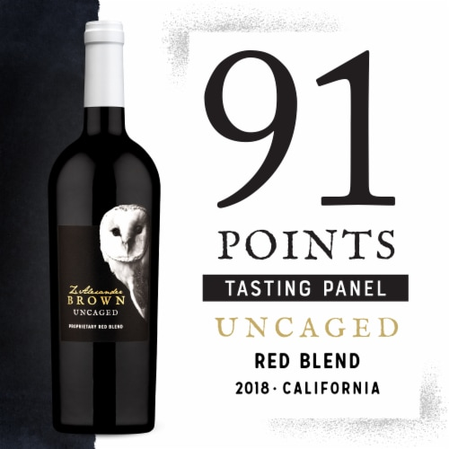 Z. Alexander Brown Uncaged Proprietary Red Blend Wine Perspective: bottom