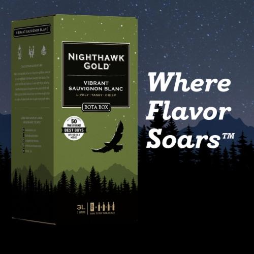 Bota Box Nighthawk Gold® Vibrant Sauvignon Blanc California White Wine Perspective: bottom