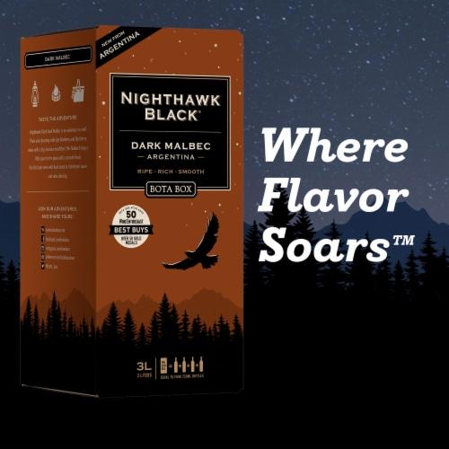 Bota Box Nighthawk Black® Dark Malbec California Red Wine Perspective: bottom