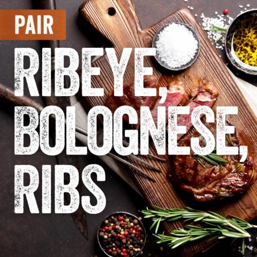 Gnarly Head California Cabernet Sauvignon Red Wine Perspective: bottom