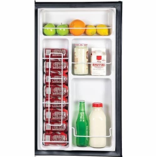 Igloo Refrigerator with Freezer - Black Perspective: bottom