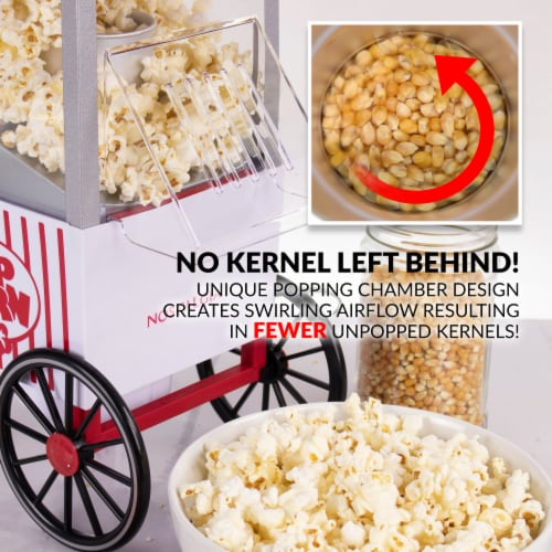 Nostalgia Hot Air Popcorn Maker Perspective: bottom