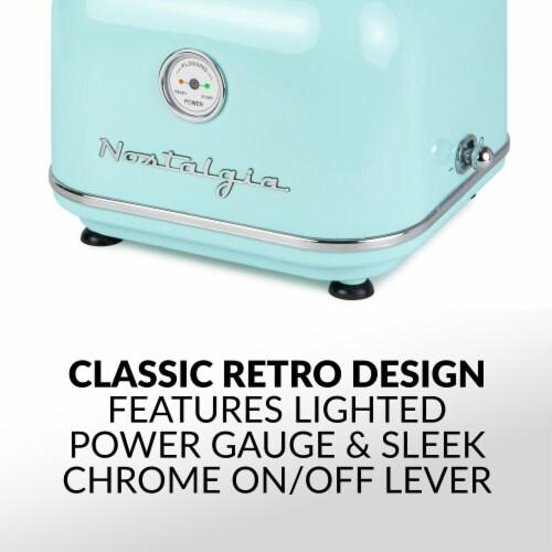 Nostalgia Classic Retro Cotton Candy Maker - Aqua Perspective: bottom